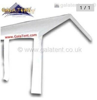 Gala Tents 4m x 10m Tent Marquee Canopy (PE) White New