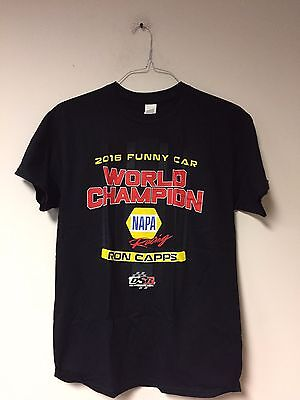 2016 Ron Capps Funny Car World Champion Shirt
