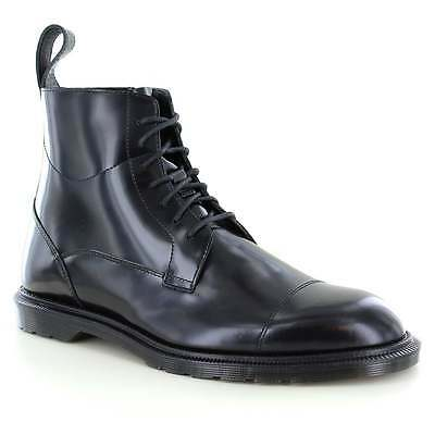 Dr Martens Winchester Mens Leather 7-Eyelet Zip Boots Black