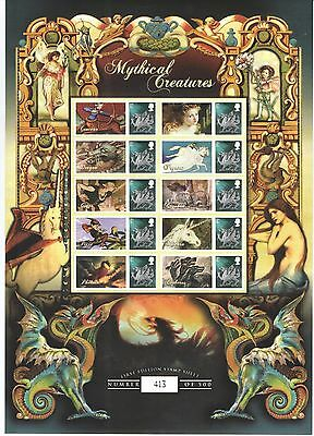 BC-222 2009 Mythical Creatures Business Smilers Sheet