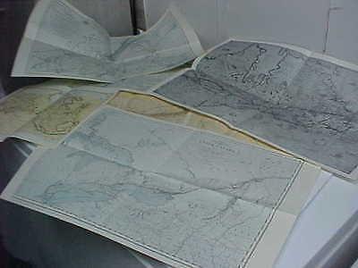 great lot of 12 maps series the mapping of early canada  centennial year 1967