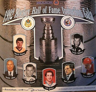 1992 Hockey Hall Of Fame Induction Calendar