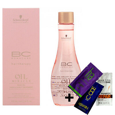 Schwarzkopf Bc Bonacure Oil Miracle Rose Oil Hair & Scalp Treatment 100Ml