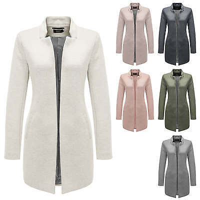 Only Cappotto da donna Giacca Business Manica lunga Color Mix NUOVO