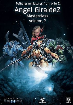 Painting miniatures from A to Z, Ángel Giráldez Masterclass Volume 2 | EN