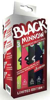 Fiiish Black Minnow European Colours Limited Edition Pack Bass Fishing Lures