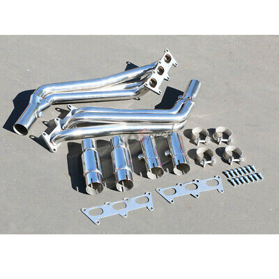 Stainless Steel Exhaust Headers FOR 2012 2014 Chevrolet Camaro 3.6L//6.2L//7.0L