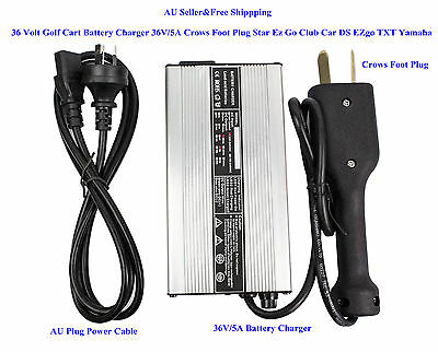 AU 36 Volt Golf Cart Battery Charger 5A Star Ez Go Club Car DS EZgo TXT Yamaha