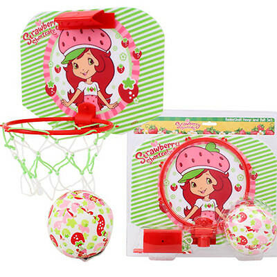 Strawberry Shortcake Basketball Wall Hoop & Ball Set by Kelly Toy
