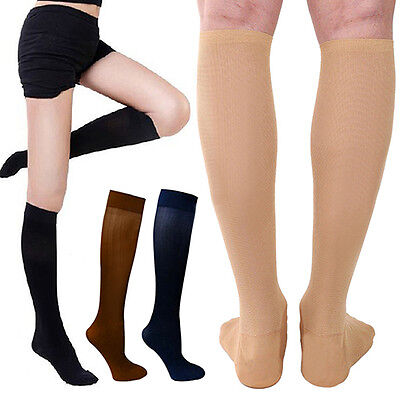 Men's Women's Anti-Fatigue Knee High Stockings Compression Support Socks Mirable