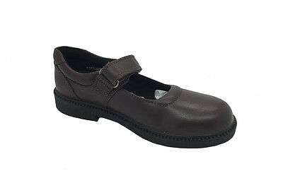 Girls Mary Jane School Shoes Clarks Rapture Brown E+ Fitting Size 10-3