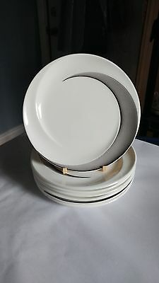 "Wedgwood Apollo Set of Seven 6 1/8"" Bread and Butter Plates"