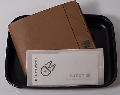 "Mandarina Duck Mens Brown Leather Wallet ""Catch All"" NEW, Quality & Class! FINE!"