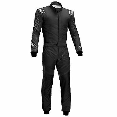 Sparco X-Light RS-7 FIA & SFI Approved 2 Layer Nomex Race Suit Black - Size 48