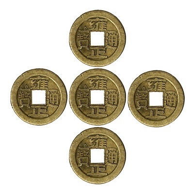 10 pcs/pack Lucky Chinese Coin Oriental Emperor Coins Fortune Hole Hanging Decor