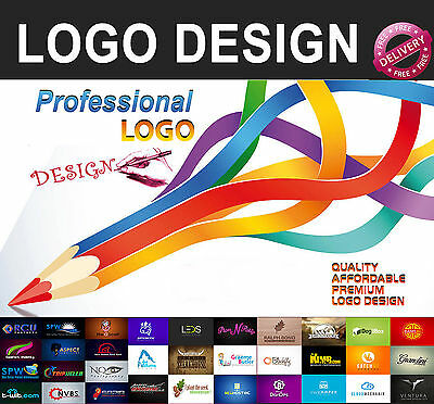 Professional Custom Logo Design - Full Services - Unlimited Revisions