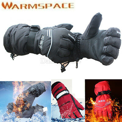 Rechargeable Battery Electric Heated Hands Finger Outdoor Ski Warmer Gloves Work