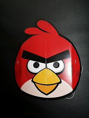 Angry Birds Card Party Face 1 × Mask