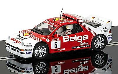 SCALEXTRIC 1:32 C3637 FORD RS200 24hr RALLY D'Ypres 1986 BELGA NO.5 CAR *NEW*