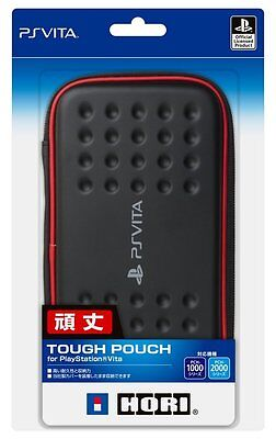 New HORI PSV-131 BLACK×RED Tough Pouch For PlayStationVita From Japan