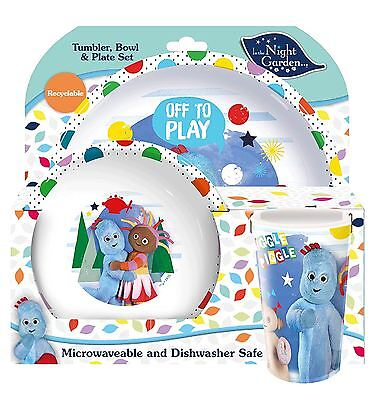Spearmark 3 Piece In The Night Garden Tumbler Bowl and Plate Set