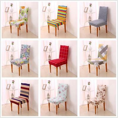 Removable Protector Stretch Dining Room Chair Covers Slip Cover 9 Types