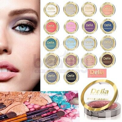 DELIA Colours Sparkling Eyeshadow Girls Gift Complete Party MakeUp - 18 SHADES