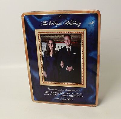 Prince William Kate Middleton Wedding Commemorative Engagement Tin Walkers