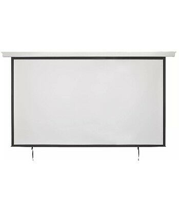 "120"" 16:9 Electric Motorised Projector Screen Hd Home Cimema Projection"