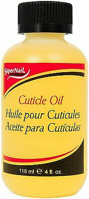 SuperNail Professional Cuticle Oil Softens & Moisturizes The Cuticle 118 ml/4 oz