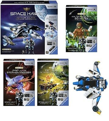 Ravensburger Space Hawk Starter Set & div. Episoden deutsch Snaptoy, Smartphone