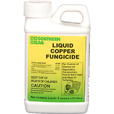 Southern Ag Liquid Copper Fungicide 8oz.