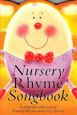 Nursery Rhyme Songbook Easy Piano Guitar Vocal Sheet Music Book Childrens Songs