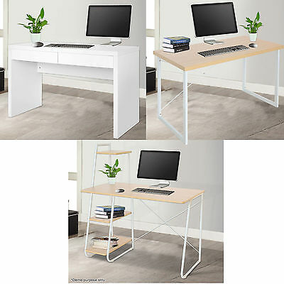 Modern Computer Desk PC Office Workstation Study Table Home Business Furniture