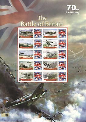 BC-314 2010 The Battle of Britain Business Smilers Sheet