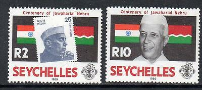 Seychelles MNH 1989 The 100th Anniversary of the Birth of Jawaharlal Nehru