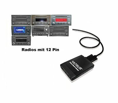 USB SD AUX Adaptador MP3 AUDI cambiador de CD Navi Plus 3 RNS-BAJO BNS 5.0 RNS-E