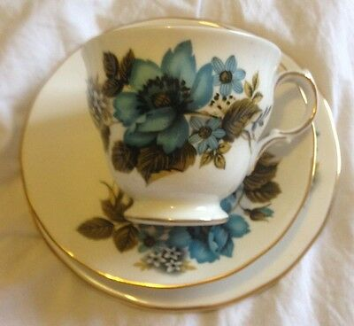 Queen Anne Bone China Tea Trio