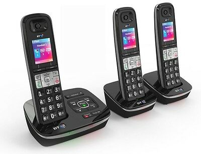 Bt 8500 Trio Digital Cordless Telephone & Answer Machine & Advanced Call Blocker