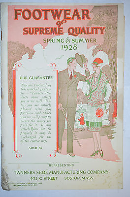 Tanners Shoe Co., Footwear of Supreme Quality, Spring/Summer Catalog 1928
