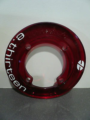 e thirteen Supercharger Rockring Bashguard - 38T - 104 BCD - 4 Bolt - Red