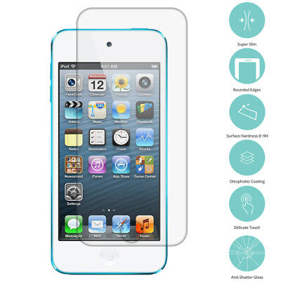 5X Real Premium Tempered Glass Film Screen Protector for iPod Touch 5th Gen 5G