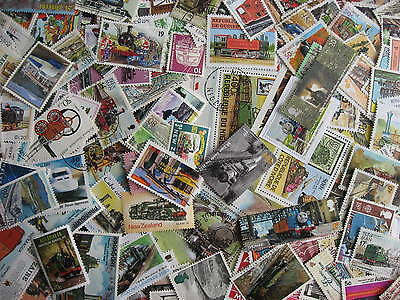 TRAINS Topical collection 130 different (+3 SS) Mixed condition