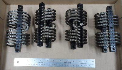 Circular Wire Rope Isolators    lot of 4    FREE SHIPPING