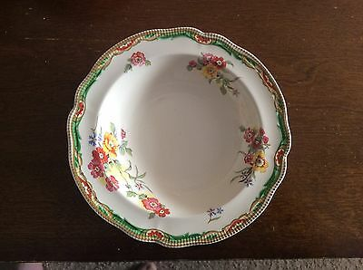 """Old Staffordshire Johnson Bros England Bowl 6.5"""" Diameter With Floral Pattern"""