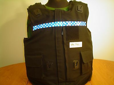 Male Nij Level 2A Bullet/stab Proof Vest Extra Extra Extra Large/tall Hawk