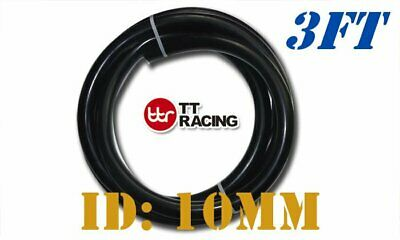 """10mm (3/8"""") Silicone Vacuum Tube Hose Tubing Pipe Price for 3FT Black"""