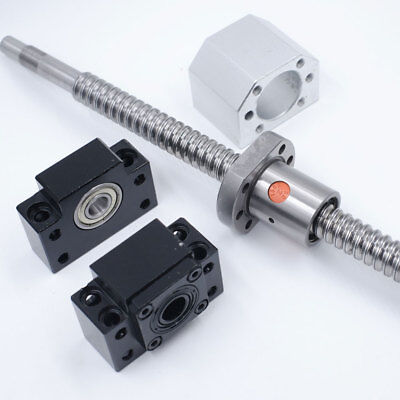 SFU1605 Rolled Ballscrew Single Ballnut L500mm Anti-Backlash RM1605 &BK/BF12 Kit