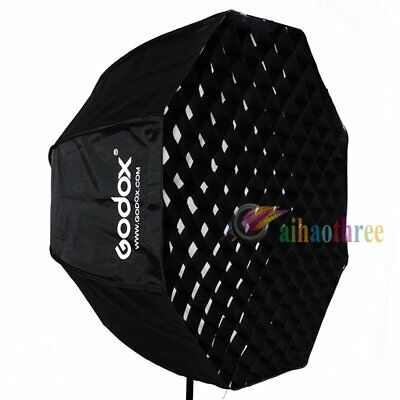 GODOX 80cm Octagon Softbox With Honeycomb Grid For Studio Strobe Flash Light【AU】