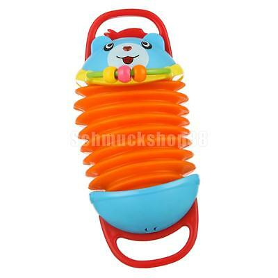 Colorful Cartoon Accordion Instrument Musical Toy for Kids Gift Play Fun